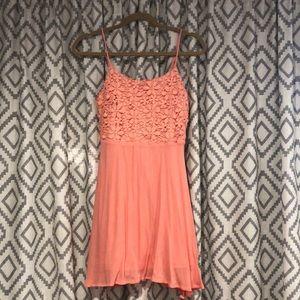 Double Zero coral dress